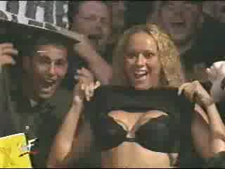 WWE - WWF DX Female Flasher Uncensored